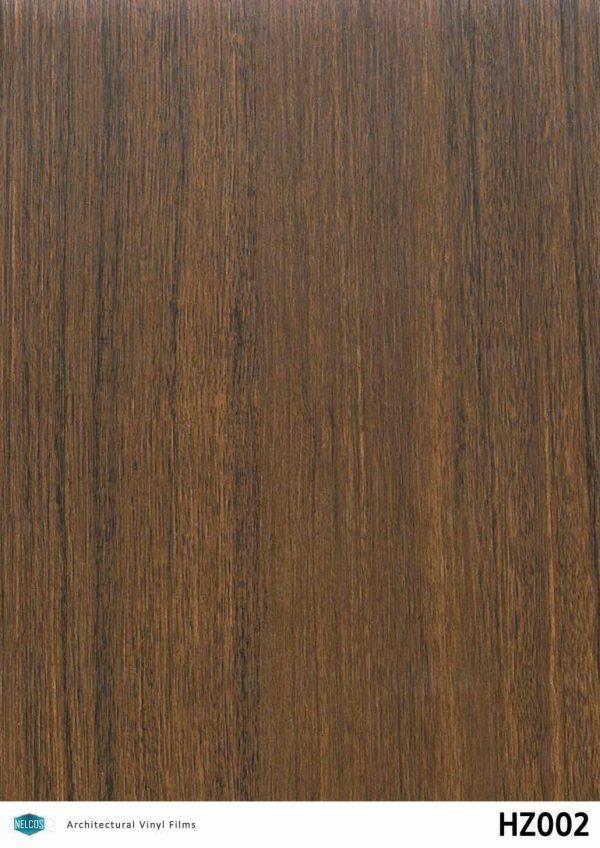 HZ002 Amazakoue Dark Wood Interior Film - Wood Collection