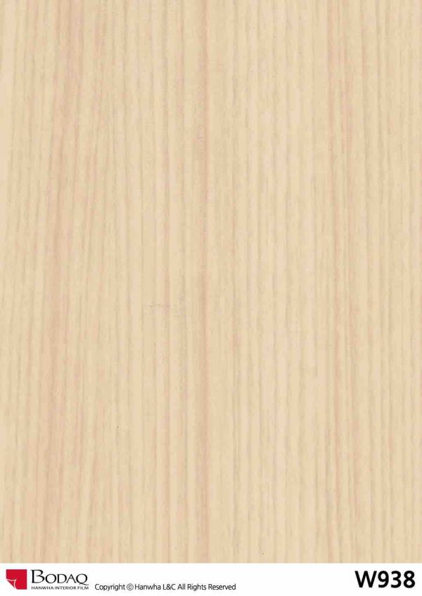 Nelcos W938 White Ash Interior Film - Standard Wood Collection