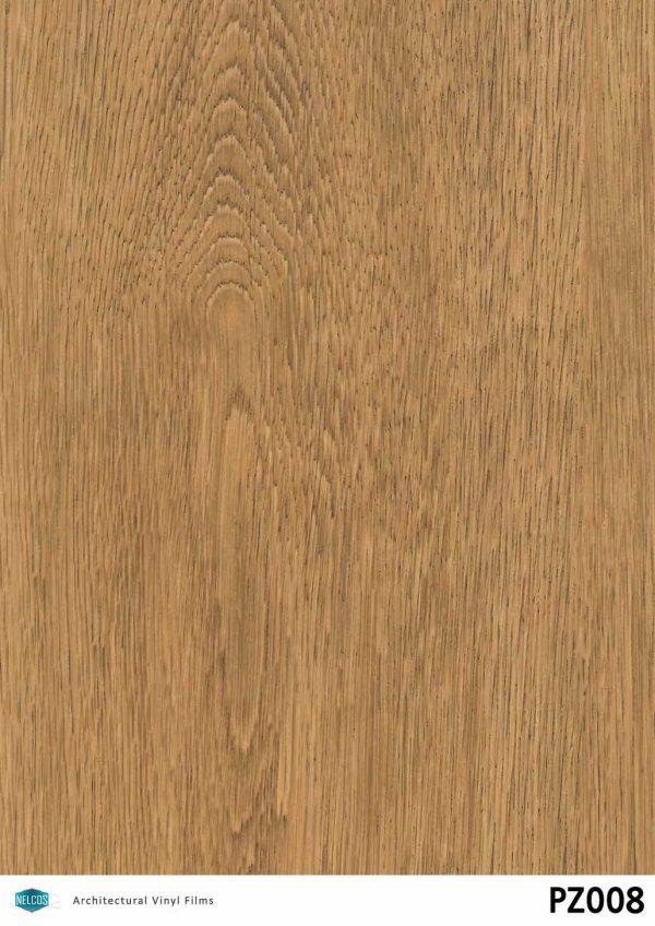 PZ008 Oak Dark Wood Interior Film - Wood Collection