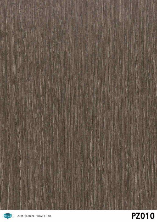 PZ010 Oak Dark Wood Interior Film - Wood Collection