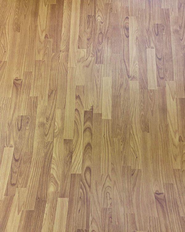 FL004 Wood Strip Vinyl Linoleum Film - Flooring Collection