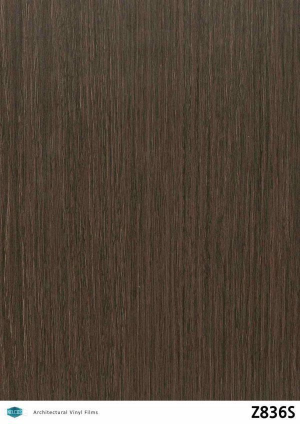 Z836S Oak Dark Wood Interior Film - Wood Collection