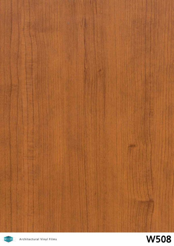W508 Noce Medium Wood Interior Film - Wood Collection