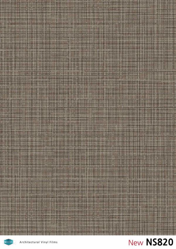 NS820 Metallic Threads Architectural Film - Fabric Collection